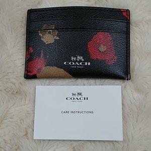 COACH Leather Card Case